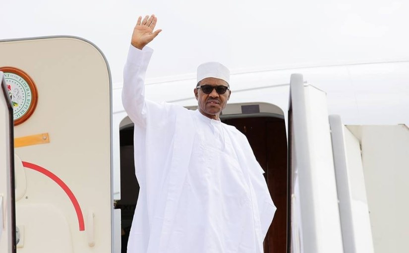 President Buhari Leaves Nigeria For UK On A PrivateVisit