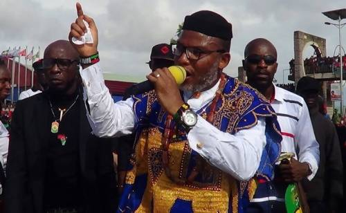 The Collapse Of The Zoo Country Nigeria Is Imminent, While The Rise Of The Biafra Nation Is Inevitable – Nnamdi Kanu