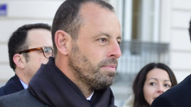 Former Barcelona president, Sandro Rosell finally acquitted after spending two years in prison for money laundering