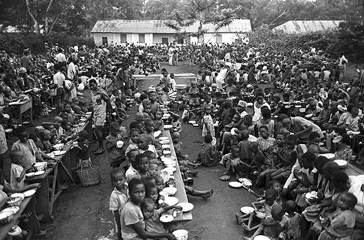 IN BIAFRA | The Loss Of Life From Starvation Continues At More Than 10,000 Persons Per Day, Biafra Heroes Day Remembrance.