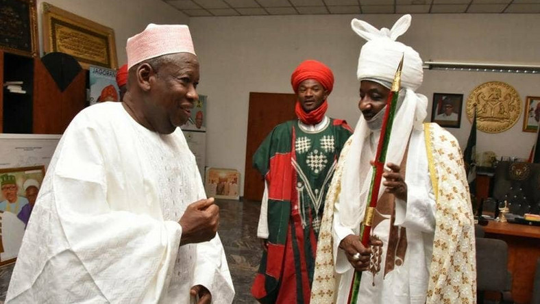 Sanusi is meant to report to the local government chairman in his domain not me – Gov. Ganduje