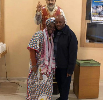 Sen. Akpabio and His wife, Under goes a spiritual retreat for a peaceful democracy daycelebrations