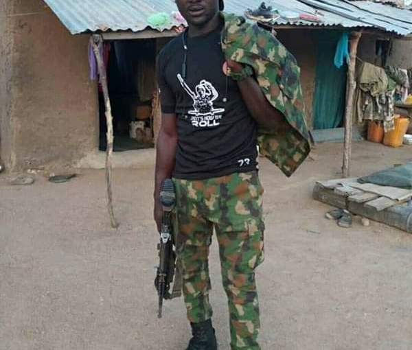 Another Nigerian Soldier, Ali Has Been Killed By Boko Haram In Borno (Photos)