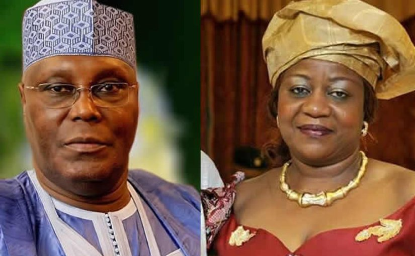 Atiku demands an open apology and N500m from Lauretta Onochie fordefamation