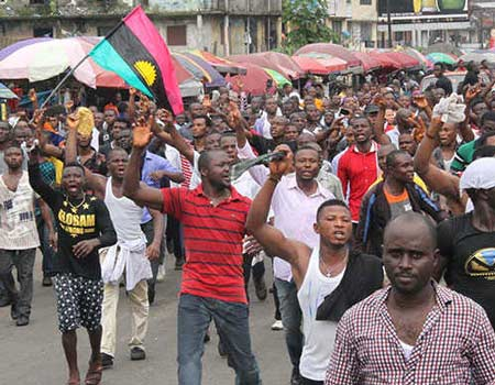 IPOB members are attacking us with stones and catapults – Anambra Police