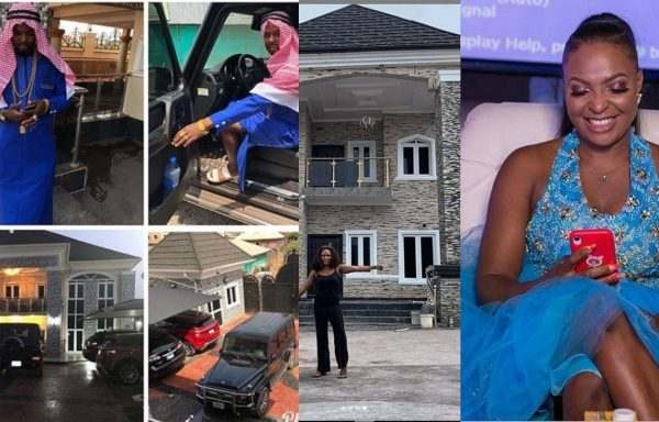 Blogger Blessing Okoro arrested for claiming a house that is not her's