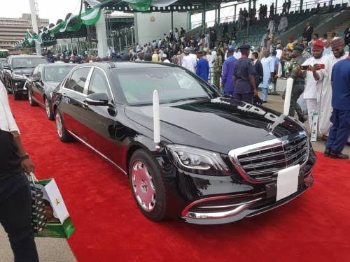 Inauguration car: Buhari's new 2019 Mercedes-Maybach s650 bullet-proof car is worth N280m, not N61m –Expert
