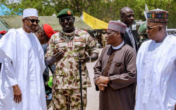 We're not planning to overthrow the democratically elected government led by President Muhammadu Buhari – Nigerian military refutes claims