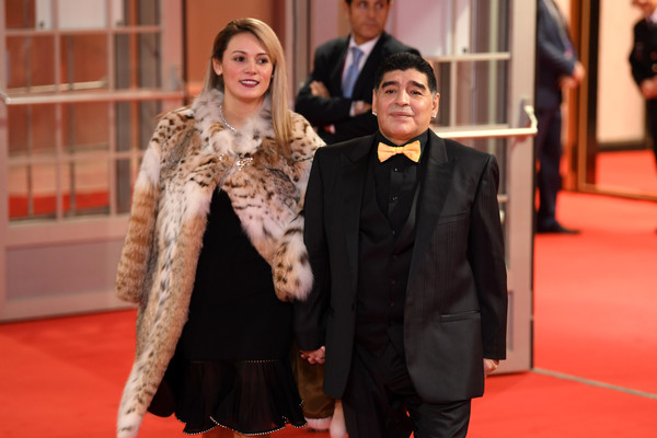Argentine football legend, Diego Maradona arrested at airport after his ex-girlfriend sued him for $9million