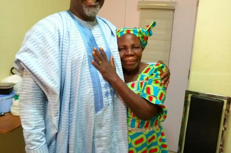 Senator Dino Melaye loses his mother, Deconess Comfort Melaye