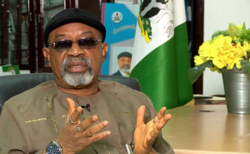 Labour Blocks Dr Chris Ngige's Gate With Fully Loaded Tankers (photos)