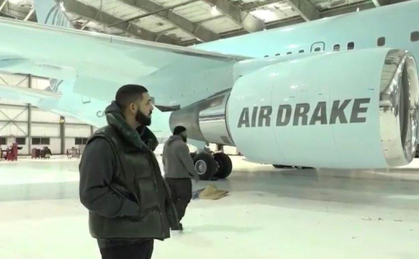 Drake buys $350Million Air Plane ForHimself