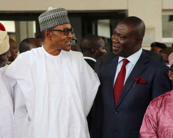 Sen. Ekweremadu meets Buhari over the creation of state police