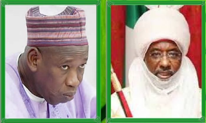 What Emir Of Kano Sanusi Muhammad Sanusi II Said That Makes Gov. Ganduje Want To Kick Him Out Of Office