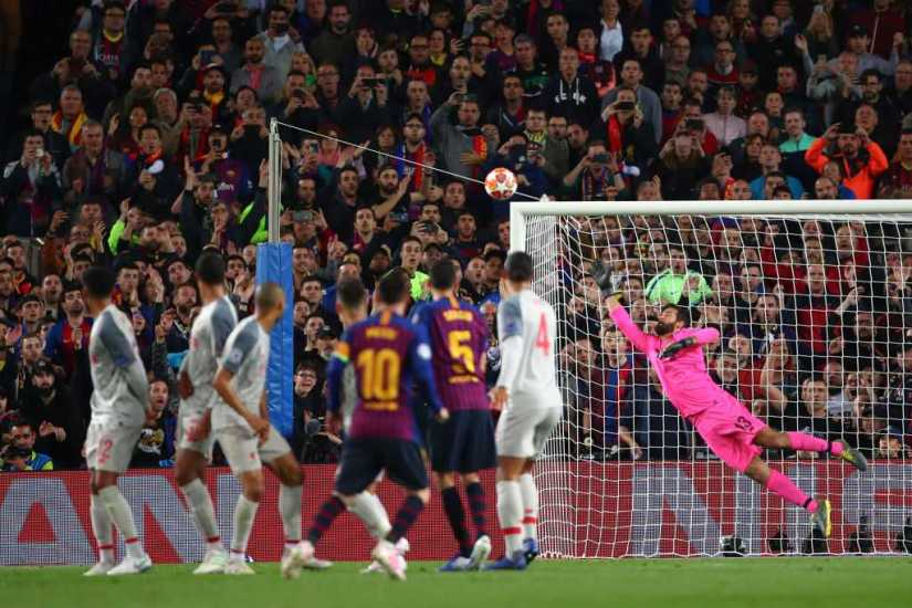 Messi Scored 600 Barcelona Goals Against Liverpool with A WonderStrike