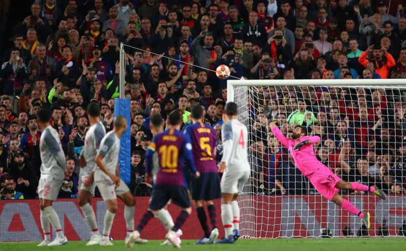 Messi Scored 600 Barcelona Goals Against Liverpool with A Wonder Strike