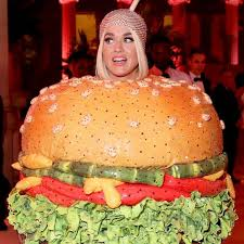 Katy Perry Turns Into A Burger At The Met Gala2019