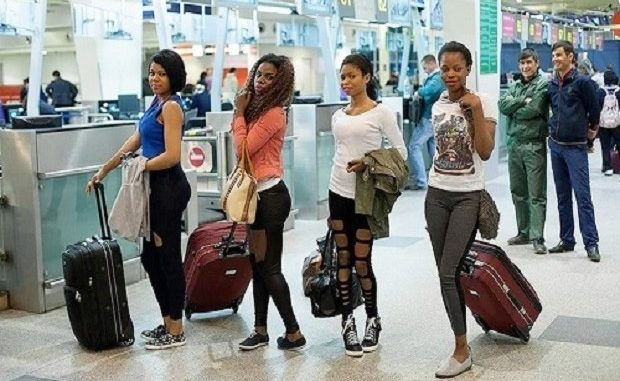 African maids in Kuwait, used as slaves begs the Govt. to deportthem