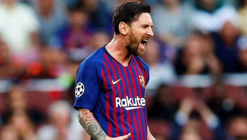 Petition To Ban Lionel Messi for Champions League 'punch' passes 2,500signatures