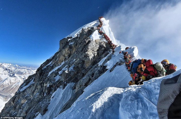 Traffic Jam On Mount Everest,  11 Climbers Confirmed Died