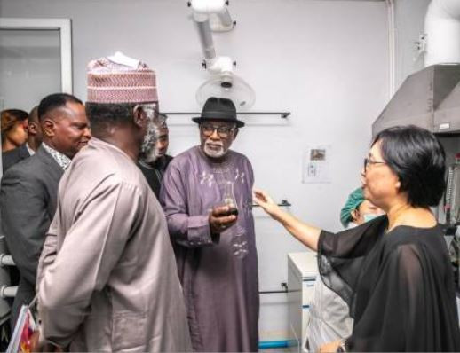 Ondo State Gov. Rotimi Akeredolu and NDLEA chairman Muhammad Abdallah in Thailand to learn how to grow local medicinal cannabis (photos)