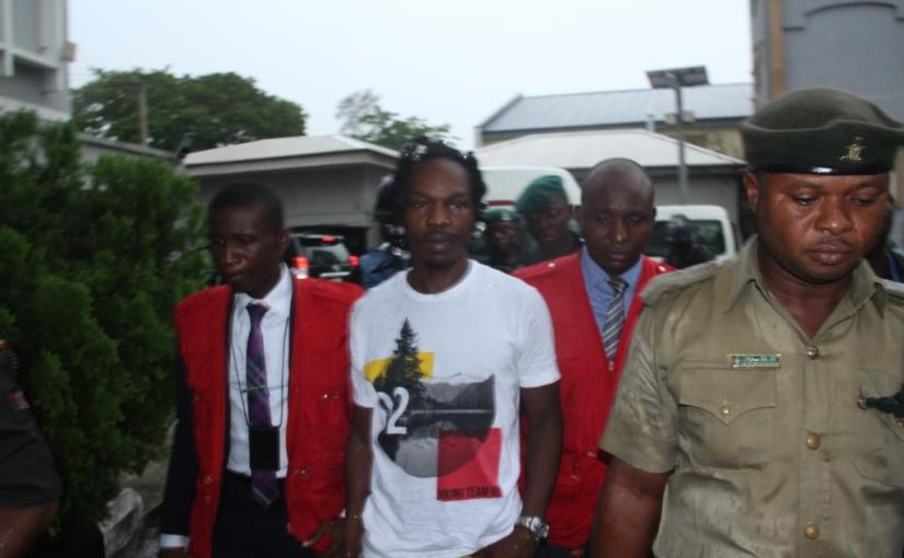 EFCC, Court hands Naira Marley Over To Nigerian Prisons (photos)