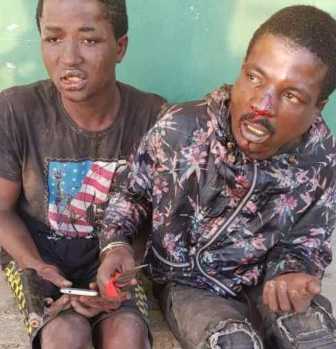 Police Arrests 10 trafficrobbers