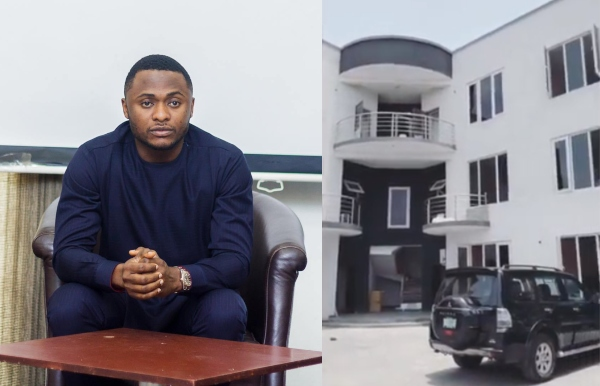 Ubi Franklin Completes His Hotel In Abuja(photos)