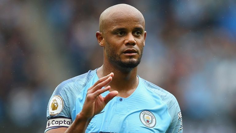 Manchester City Captain Vincent Kompany Leaves The Club After 11 years and 360Games