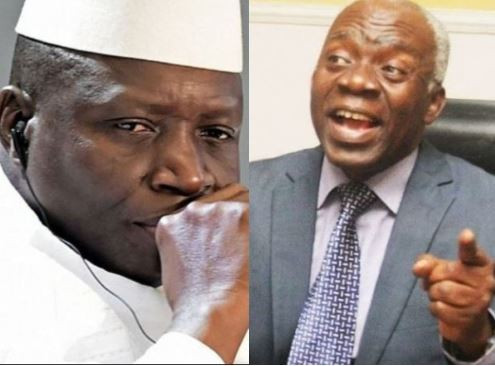 Former Gambian  President Yahya Jammeh ordered illegal execution of over fifty persons, including nine Nigerians – Femi Falana