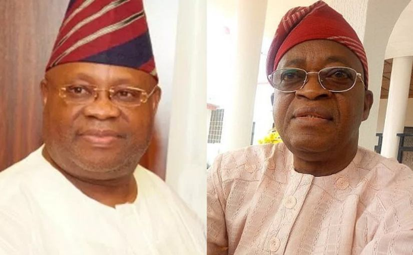 Sen Adeleke challenges Governor  Oyetola's victory in court