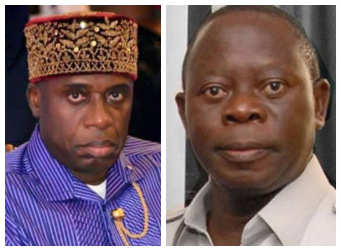 Tinubu, Amaechi and Oshiomhole On a Collision Course, battling For NDDC MD Job