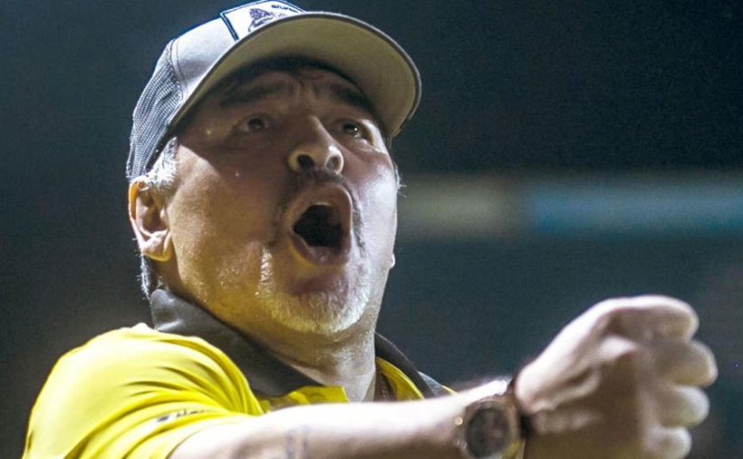 You guy's have defiled the shirt – Maradona Blasts Argentina After They were Beaten By Colombia