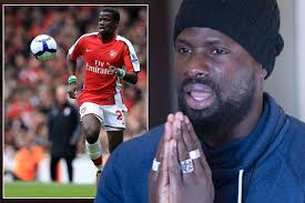 Former Ivory Coast and Arsenal defender Emmanuel Eboue, struggling with mental depression