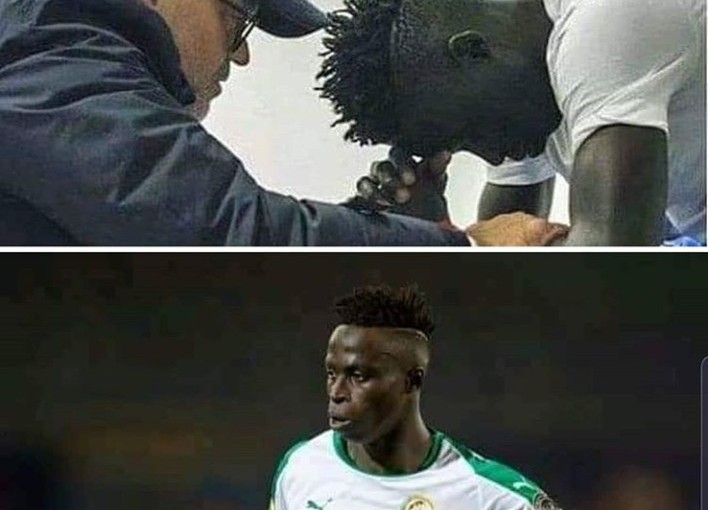 "Senegalese Player, Krepin Diatta cries after people Mocked him For ""Being Ugly"""