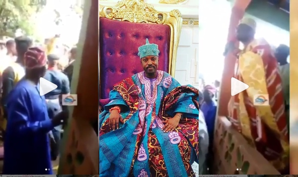 You Wanted To Sleep With My Wife – Sheikh Adio exposes Oluwo of Iwoland Oba AbdulRasheed Akanbi, during Sallah Celebration(photos)
