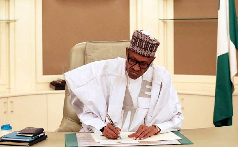 President Muhammadu Buhari finally pays Super Eagles allowances