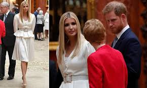 Prince Harry chats with Ivanka Trump, but avoids the dad, Donald Trump after he called his wife 'Nasty'