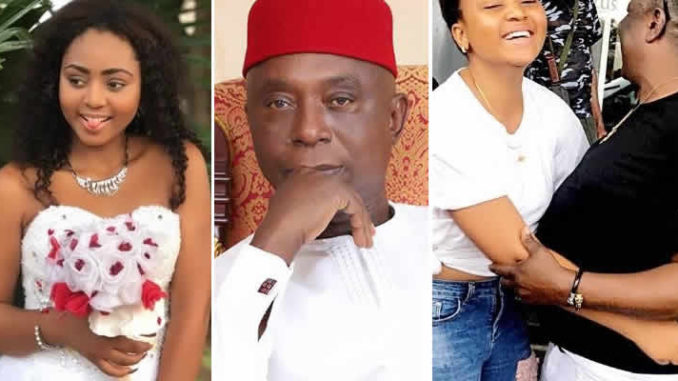 If you ever sleep with another man other than your husband, there will be grave consequences – Charles Awurum warns Regina Daniels (Video)