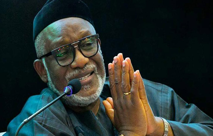 Governor of Ondo State, Rotimi Akeredolu sacks three of his commissioners