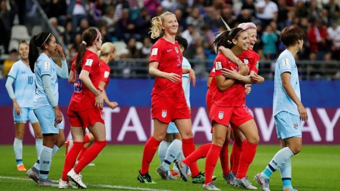 Ruthless USA beats hapless Thailand 13 – 0, breaks FIFA World Cup Record