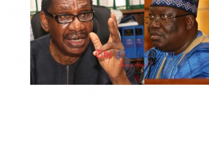 Stop Lying Lawan, Each Nigerian Senator Receives N15m Monthly – Sagay attacks Senate President, Ahmed Lawan