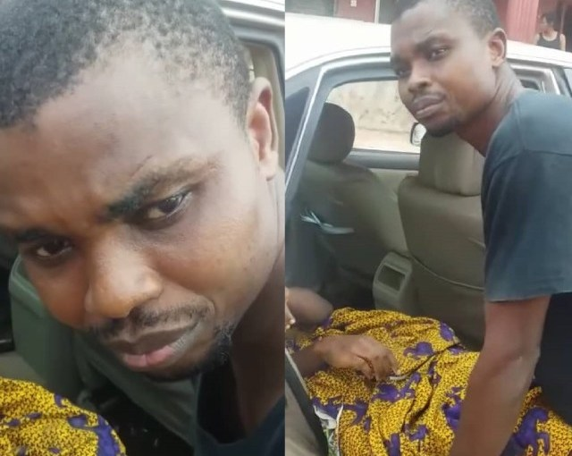 Police arrests man for allegedly watching his wife, bleed to death in their home after refusing to take her to the hospital to give birth to their 3rd baby (photos & video)