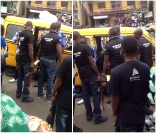 SARS men leaves man who refuses to die by their gun shots (photos)