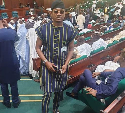 NairaBet Owner Akin Alabi and Quilox night club owner, Shina Peller, resume as House of Representative members in Abuja (photos)