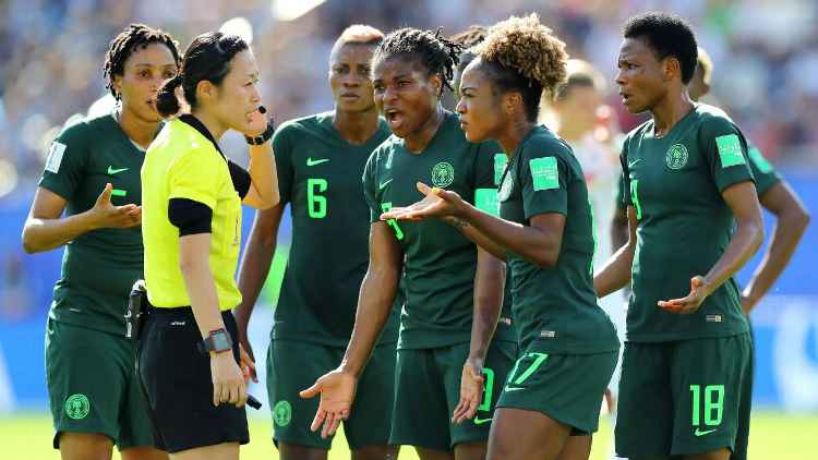 """We Are Not Owing Super Falcons A Dine"" – NFF Debunks Claims It's Owing Super Falcons"