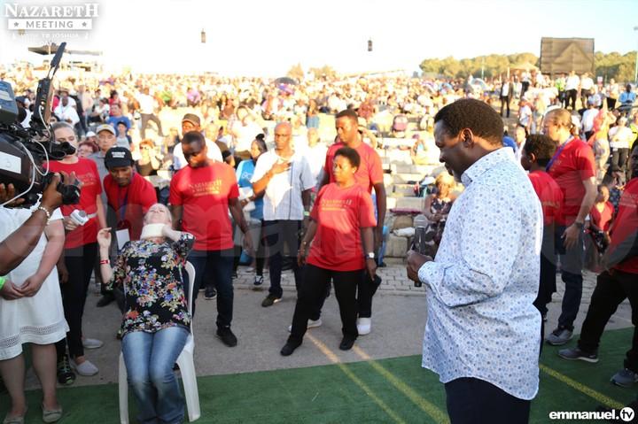 TB Joshua Nazareth Crusade: New York Times Celebrates, celebrity Nigerian pastor outside Jesus'shometown