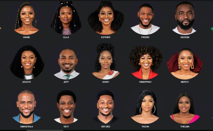 Meet the 21 2019 BBNaija Housemates, Their Names And Numbers