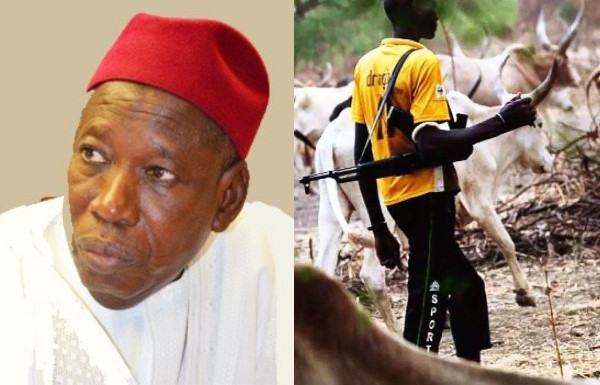 Abolish Herdsmen Movement From North To South – Gov. Abdullahi Ganduje