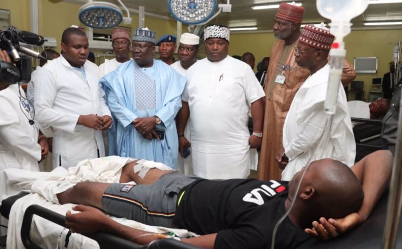Shiite Attack: Sen. president Ahmad Lawan Visits Victims, Condemns Attack